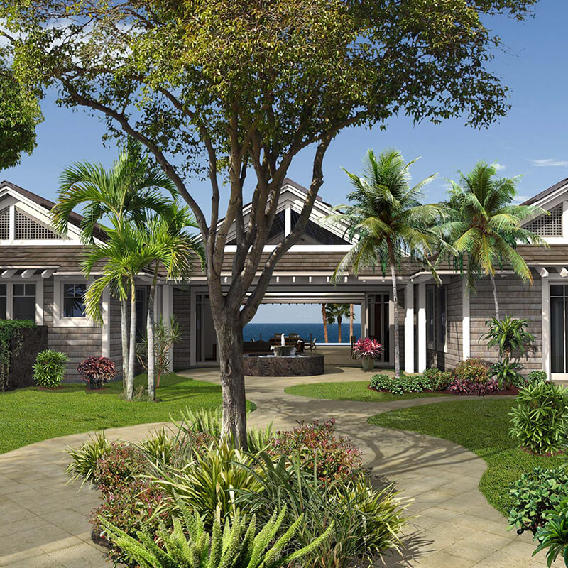 Hawaii's Newest Luxury Enclave Has Billionaires Eating Off Trees