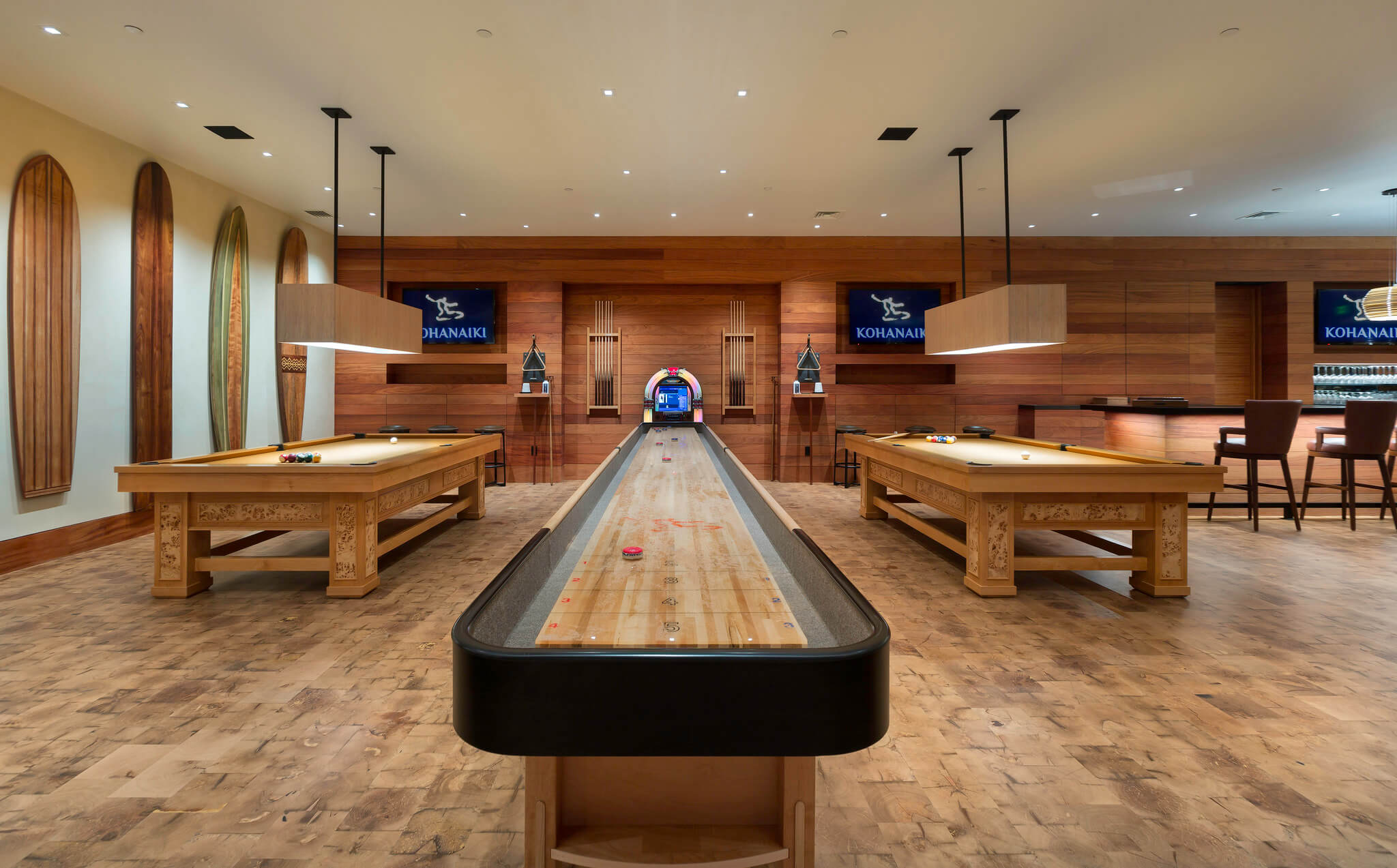 Clubhouse Recreation Game Room