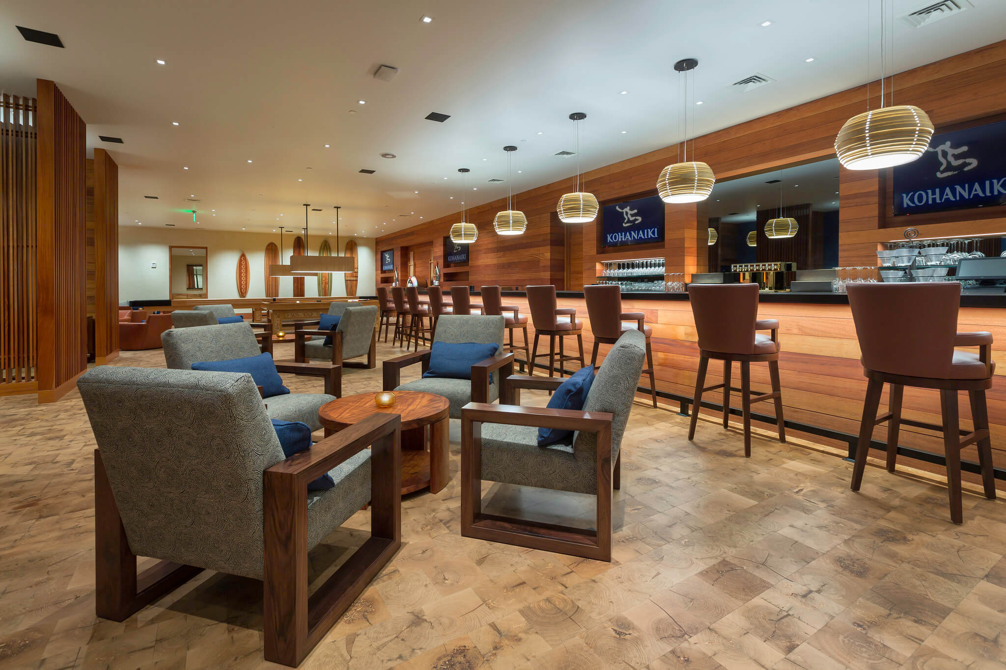 Clubhouse Recreation Room Bar